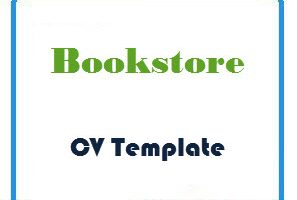 Bookstore CV Template