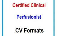 Certified Clinical Perfusionist