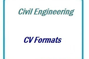 Civil Engineering CV Formats