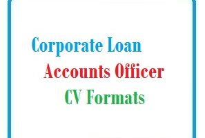 Corporate Loan Accounts Officer CV Formats