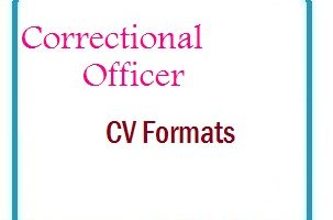 Correctional Officer CV Formats