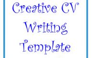 Creative CV writing Template