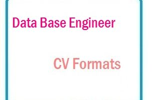Data Base Engineer CV Formats