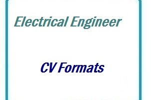 Electrical Engineer CV Formats