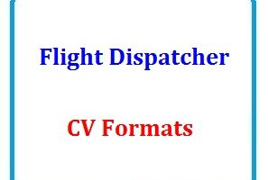 Flight Dispatcher CV Formats