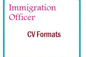 Immigration Officer CV Formats