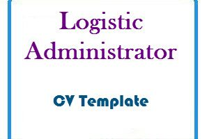 Logistic Administrator CV Template