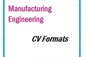 Manufacturing Engineering CV Formats 01