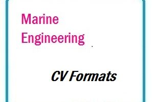 Marine Engineering CV Formats