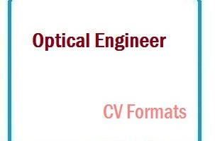 Optical Engineer CV Formats