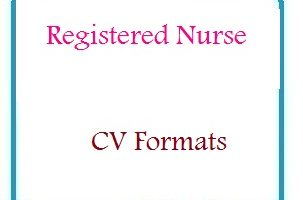 Registered nurse CV Formats