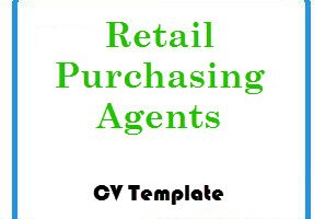 Retail Purchasing Agents CV Template