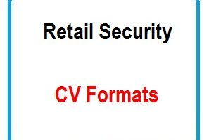 Retail Security CV Formats