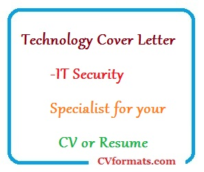 It Security Cover Letter from cvformats.com