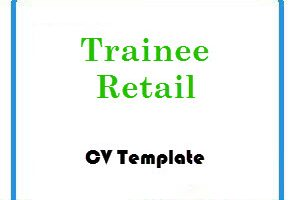 Trainee Retail CV Template