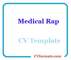 Medical Rap CV Template