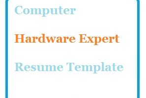 Computer Hardware Expert Resume Template