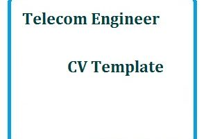 Telecoms Template, CV Format and cv sample