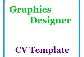 Graphics Designer CV Template