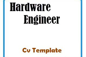 Hardware Engineer CV Template