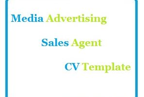 Media Advertising Sales Agent CV Template
