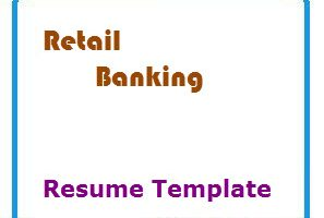 Retail Banking Resume Template