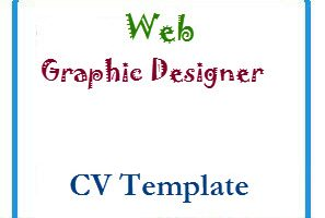 Web Graphic Designer CV Template