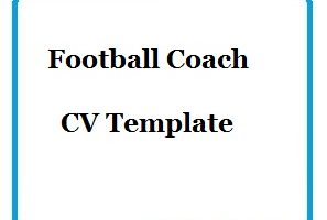 Football Coach CV Template-01