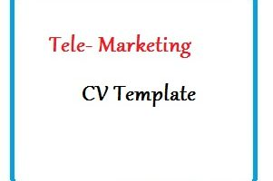 Tele- Marketing CV Template
