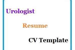 Urologist Resume CV Template
